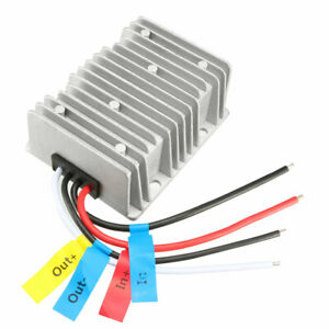 Uxcell Voltage Reducer Converter Regulator Dc 12v To Dc 19v 15a 285w Waterproof