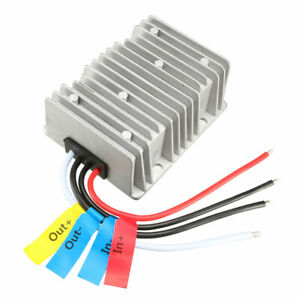 Uxcell Voltage Reducer Converter Regulator Dc48v To Dc 13 8v 30a 414w Waterproof