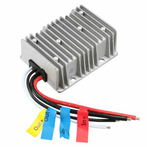 Uxcell Voltage Reducer Converter Regulator Dc 12v To Dc 19v 20a 380w Power Boost
