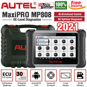 Autel Mp808 Bidirectional Scanner Key Fob Programming All System Diagnostic Tool