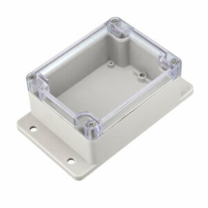 115x90x55mm Electronic Abs Plastic Diy Junction Box Enclosure Case W Clear Cover