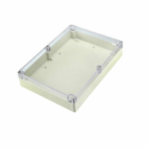 290x210x60mm Electronic Abs Plastic Junction Box Enclosure Case W Clear Cover