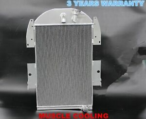 New 3 Rows Radiator For 1935 36 Chevy Truck Pickup 3 4l Gas L6 Cc3436