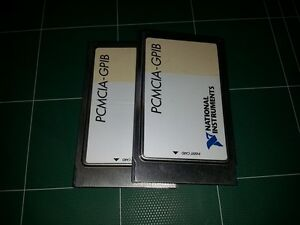 Ni National Instruments Pcmcia gpib Card Only