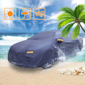 Car Cover Multi Size Waterproof Snow Rain Resistant All Weather Protection