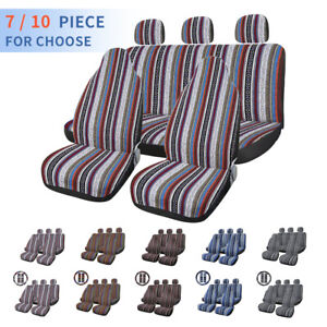 Universal Automotive Colorful Blanket Bucket Seat Cover Pad For Car Auto