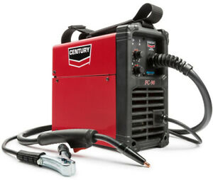 Welding Machine Welder Gun 90 Amp Century Fc90 120 Volt Flux Core Wire Feed