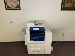 Xerox Workcentre 7845 Color Copier Machine Network Printer Scanner Fax Finisher