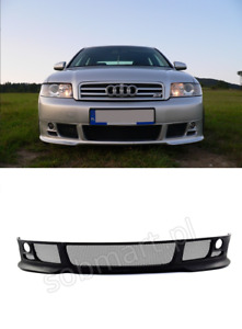 Audi A4 B6 Saloon estate 2000 2006 Front Lips Front Bumper Spoiler Tuning