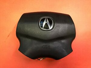 2004 2006 Acura Tl Driver Air Bag Black Used Oem