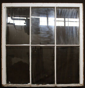 2 Avail 40 5 X44 Antique Vintage Solid Wood Wooden Sash Window Glass Lite Pane