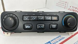 2001 2002 Honda Accord A C Climate Control Heater Manual Temperature With Knobs