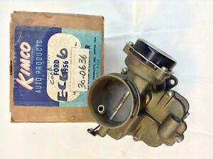 Holley 2110 94 Carburetor Ecg 6 1956 Ford Y Block V8 Engine