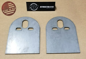 Sr 2500lb 2600lb Steel Upper D Plate Mounting Brackets Air Bag Suspension Pair