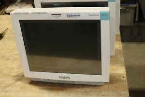 Philips Intellivue Mp70 Touch Screen Patient Monitor Color Tested