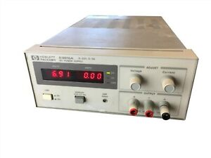 Agilent Hp E3615a Dc 0 20v 0 3 Amp Single Output Benchtop Linear Power Supply