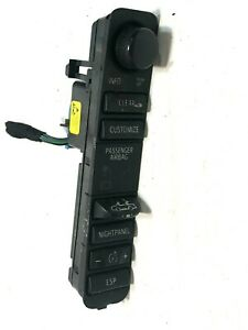 2003 2007 Saab 9 3 Convertible Top Esp Nightpanel Control Switch 12791254 Oem