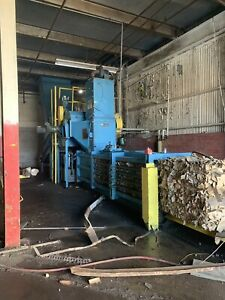 Maren Horizontal Baler Industrial Cardboard Shredder Baler Used