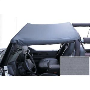Rugged Ridge 13573 09 Gray Summer Brief Top For 1987 1991 Jeep Wrangler yj