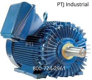 300 Hp Electric Motor 587u 3 Phase 1800 Rpm Crusher Severe Duty