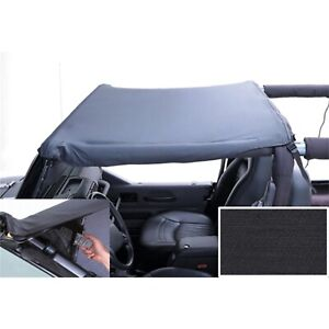 Rugged Ridge 918315 Blk Diamond Pocket Brief Top For 87 1991 Jeep Wrangler yj