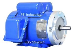 2 Hp Electric Motor 1 Phase 56c Or 56 115 230 Volt 3600 Rpm F56ch2s2c