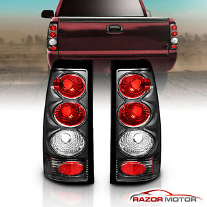 1999 2002 Chevy Silverado 1999 2006 Gmc Sierra 1500 2500 3500 Black Tail Lights