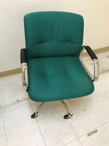 Steelcase Chairs green Color