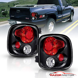 1999 2004 Chevy Silverado gmc Sierra 1500 2500 3500 Stepside Tail Lights Pair