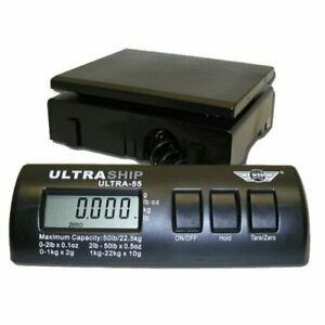 Ultraship 55 Lb Digital Postal Shipping Kitchen Scale