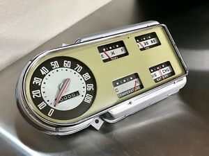Beautiful Restored 1948 1950 Ford Pickup Truck Gauge Cluster Panel Rat Rod Scta