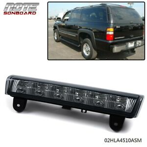 Led 3rd Third Brake Light For 2000 06 Chevrolet Suburban Tahoe Gmc Yukon Smoke