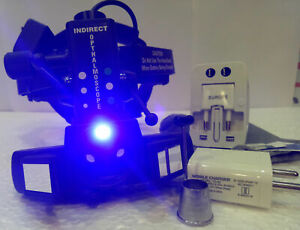 Indirect Ophthalmoscope With 20 D Lens With Accessories Optometry