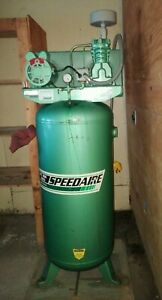 Speedaire 60 Gallon 5 Hp Single Phase Electric Vertical Tank Air Compressor