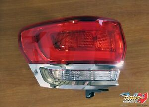 2014 2018 Jeep Grand Cherokee Driver S Side Led Tail Lamp Mopar Oem