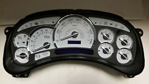 6s 03 04 06 Avalanche White Premium 140 Mph White Led Whole Instrument Cluster