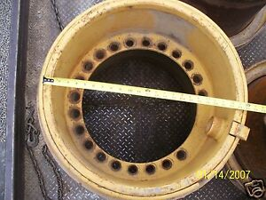 Caterpillar Case John Deer Trojan Loader Wheel Rim