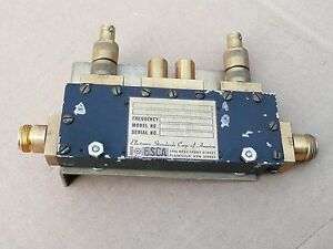 Electronic Standards Corp Dual Directional Coupler 2 5 2 7 Ghz Rf Microwave