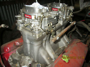 Big Block Chevy Tunnel Ram With Carbs Nos Ready