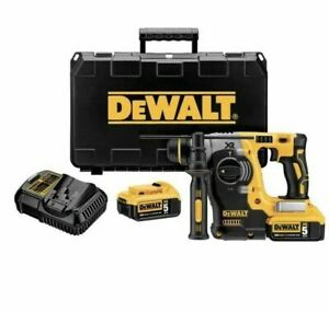 Dewalt Dch273p2 Durable Brushless Sds Rotary Hammer Drill 20v 5ah 2 Batteries