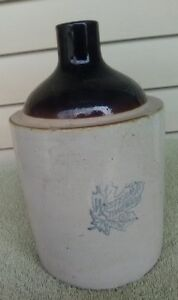1 2 Gallon Shoulder Jug By Western Stoneware Of Monmouth Illinois
