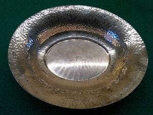 Vfw Monogrammed Wm Wise Son Sterling Silver Candy Dish 75 Grams