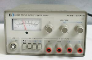 Hp agilent 6235a Triple Output 0 18v Dc Power Supply Tested