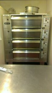 X4 Tom Chandley Nussex Compacta Deck Pizza Bakery Electric Oven