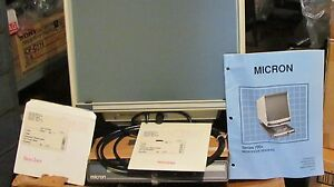 Micron Microfiche Reader Series 780a excellent Condition minimal Use