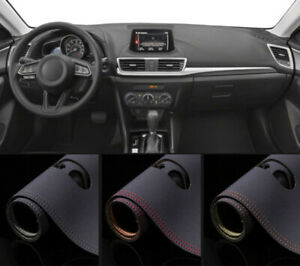 For Mazda 3 Axela 2014 2017 Leather Dashmat Dash Mat Dashboard Cover Without Hud