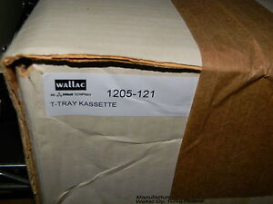 Wallac 1205 121 T tray Cassette Quantity 10 New In Box