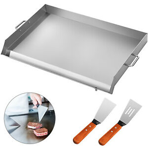 36 X 22 Stainless Steel Griddle Flat Top Grill Kitchen Heavy Duty Cookware