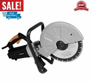 Electric Disc Cutter Tool 12 inch Powerful Heavy Duty Safe Huge Cutting Capacity