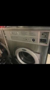 Wascomat Washer W640 40lb Stainless Steel Coin Used